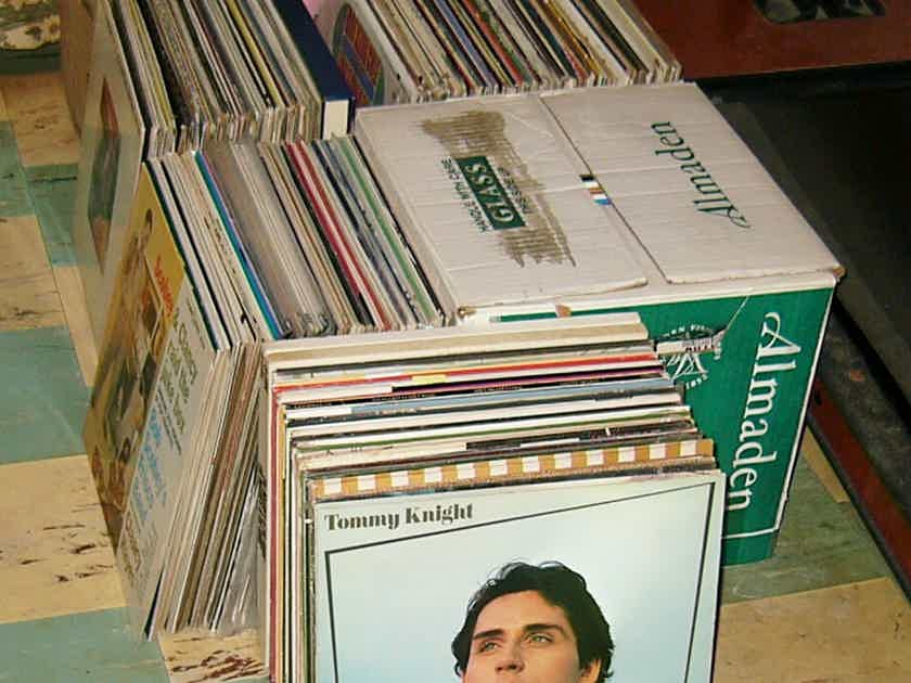 50 LPs from my record - collection at buyer's choice --$10 FLAT PRICE PER ALBUM