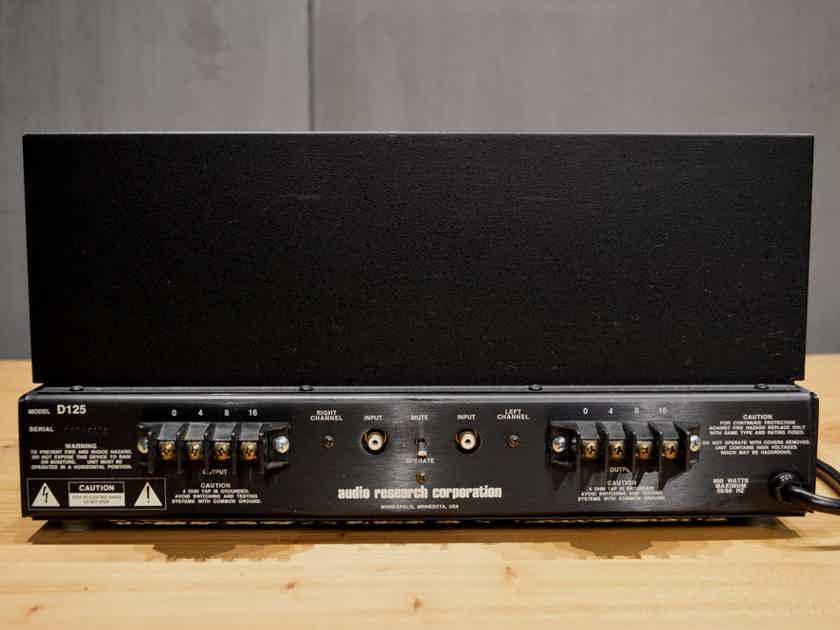 Audio Research D-125 Vintage Power Amplifier