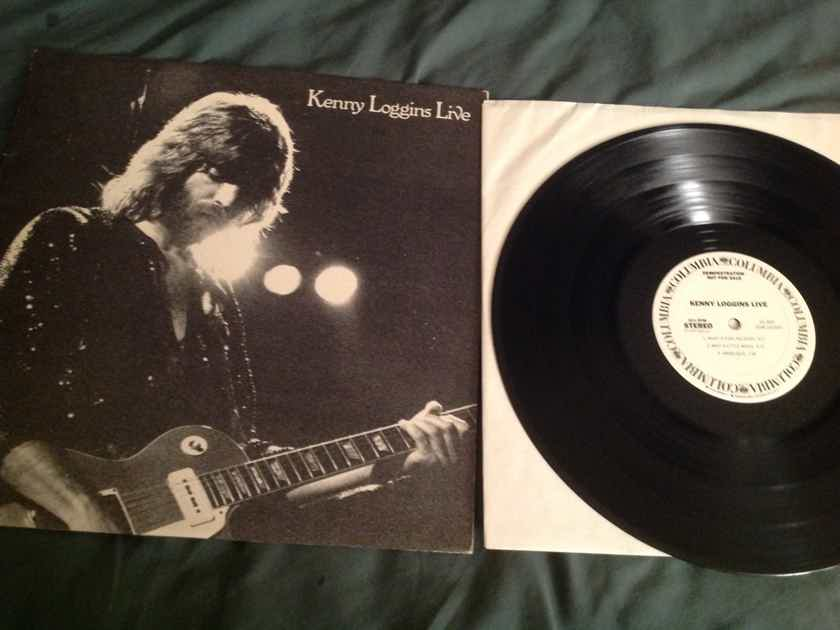 Kenny Loggins  Kenny Loggins Live Columbia Records One Sided Promo