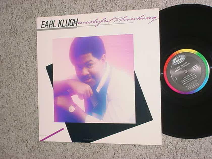 jazz Earl Klugh lp record - Wishful thinking Capitol st 5-12323