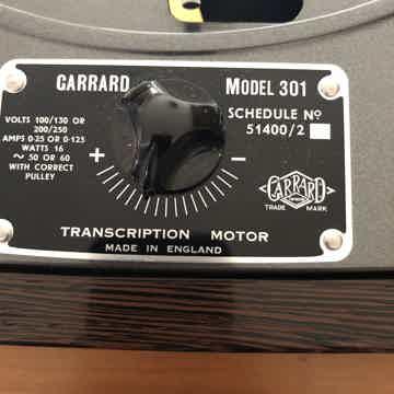 Garrard 301 Woodsong Audio