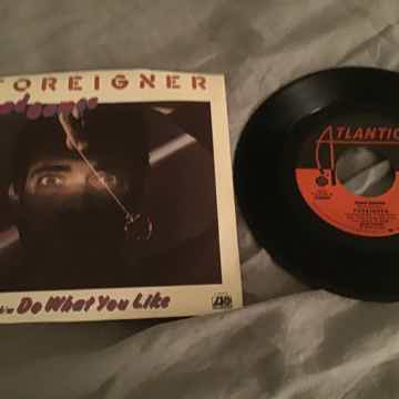 Foreigner  Head Games 45 With Picture Sleeve Vinyl NM
