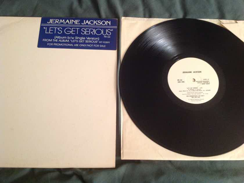 Jermaine Jackson  Let's Get Serious Motown Records Promo 12 Inch