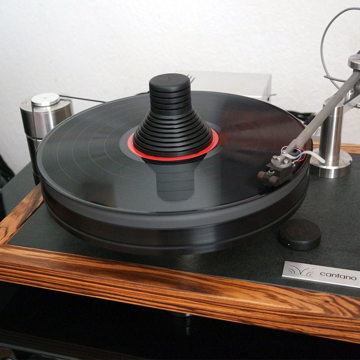 Cantano W/T - turntable and tonearm with Shun Mook Cartridge & Record Clamp