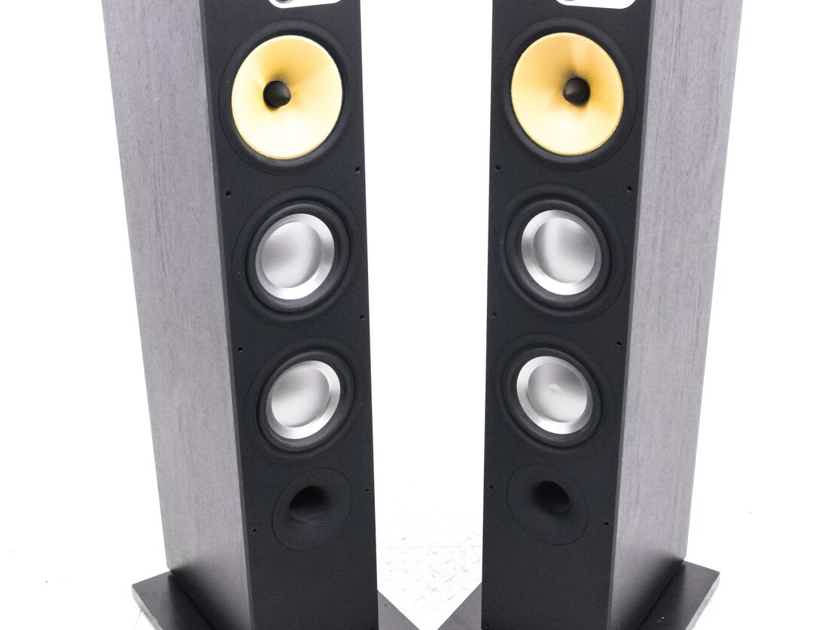 B&W 683 Floorstanding Speakers; Black Ash Pair (21629)