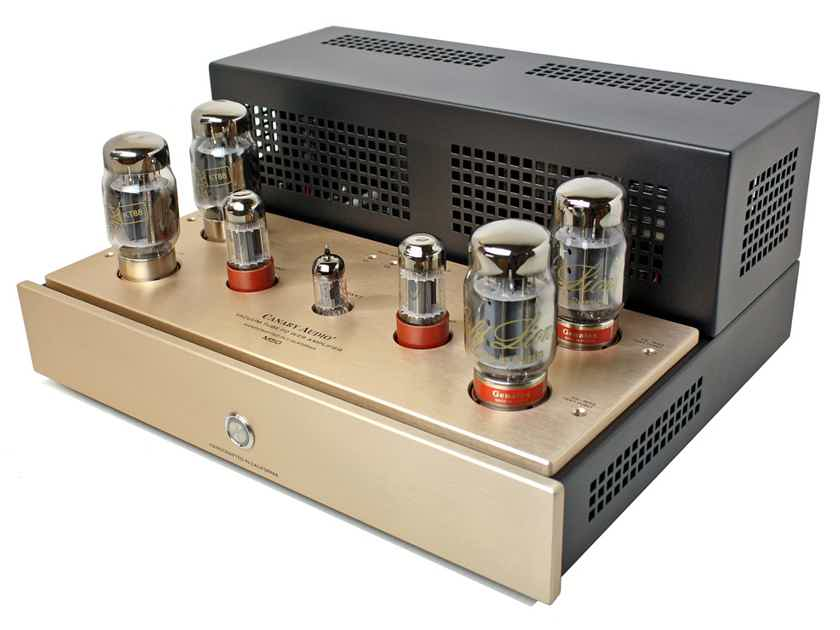 The latest pure CLASS A Stereo Amplifier with KT88's at HIGH-END PALACE!