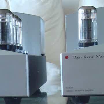 Red Rose Music Model 1 a  pair of Monoblock Tube Amplif...