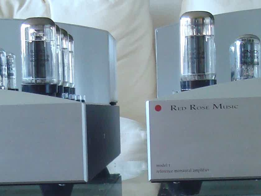 Red Rose Music Model 1 a  pair of Monoblock Tube Amplifiers