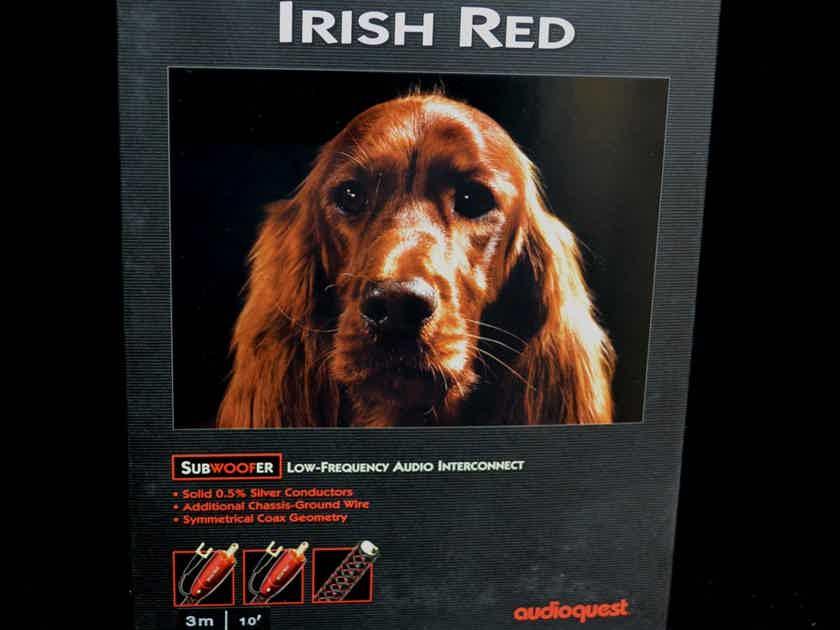 AudioQuest Irish Red - Performance Sub-woofer Interconnect - 10'