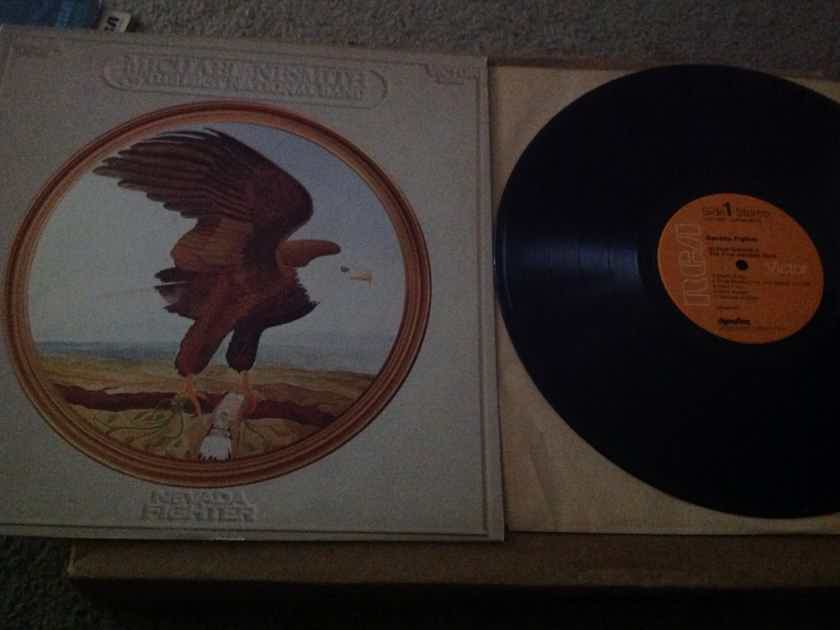 Michael Nesmith & The First National Band - Nevada Fighter RCA Records Dynaflex Orange Label Vinyl LP  NM
