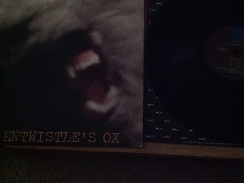 John Entwistle's Ox - Mad Dog Track Records Vinyl LP NM