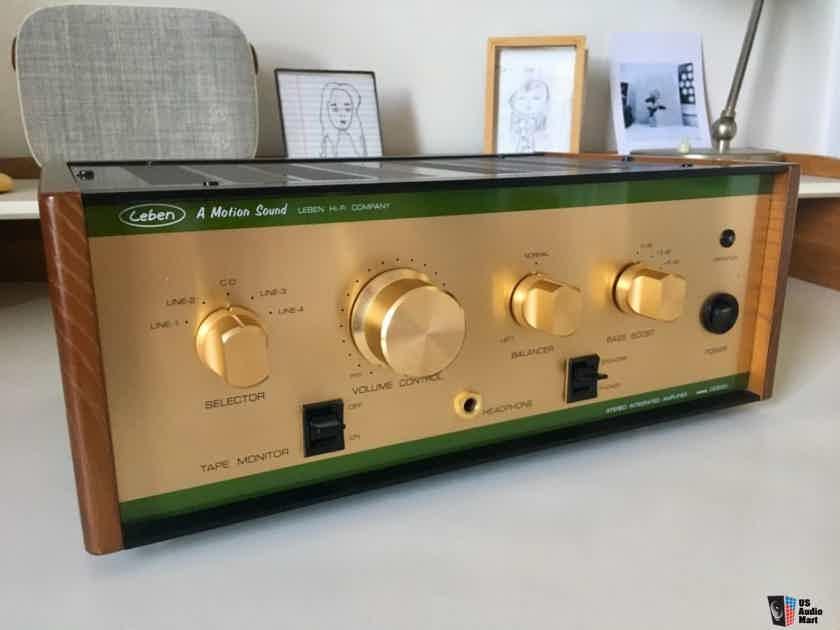 Leben Hi-Fi Stereo Co. CS-300x Original Tubes