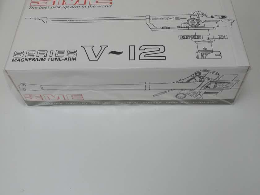 "SME Series V Tonearm 12"" Black Finish Brand New!!"