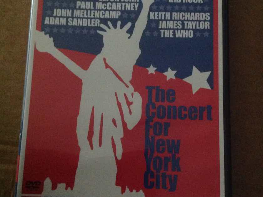 Various - The Concert For New York City Region 1 DVD 2 DVD Set David Bowie The Who Mick Jagger