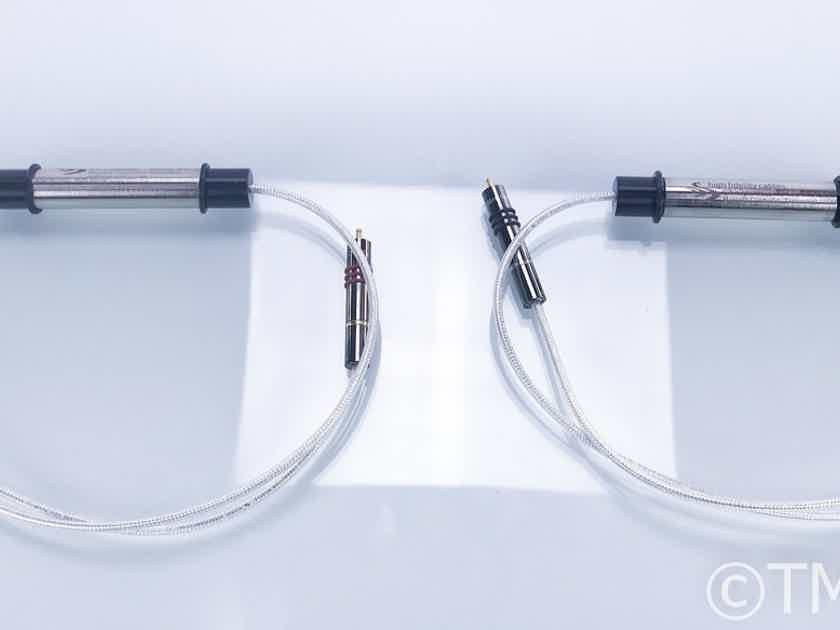 High Fidelity Cables CT-1 Ultimate RCA Cables; 1m Pair Interconnects (16704)