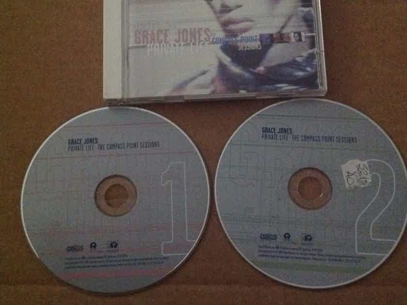 Grace Jones - Private Life The Compass Point Sessions Island Records 2 Compact Disc  Set