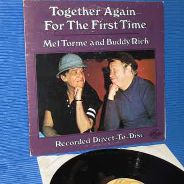 "MEL TORME & BUDDY RICH   - ""Together Again For The Firs..."