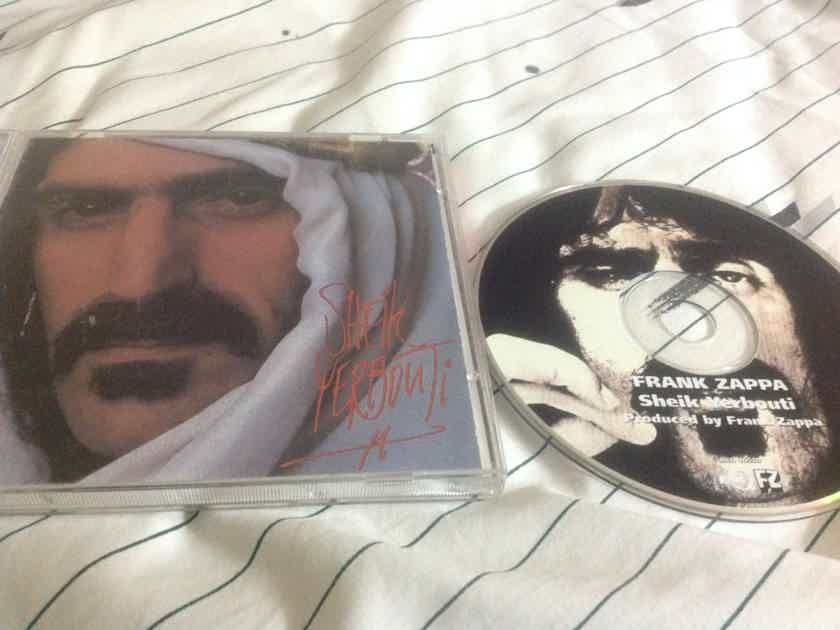 Frank Zappa - Shiek Yerbouti Columbia Records Club Edition Compact Disc