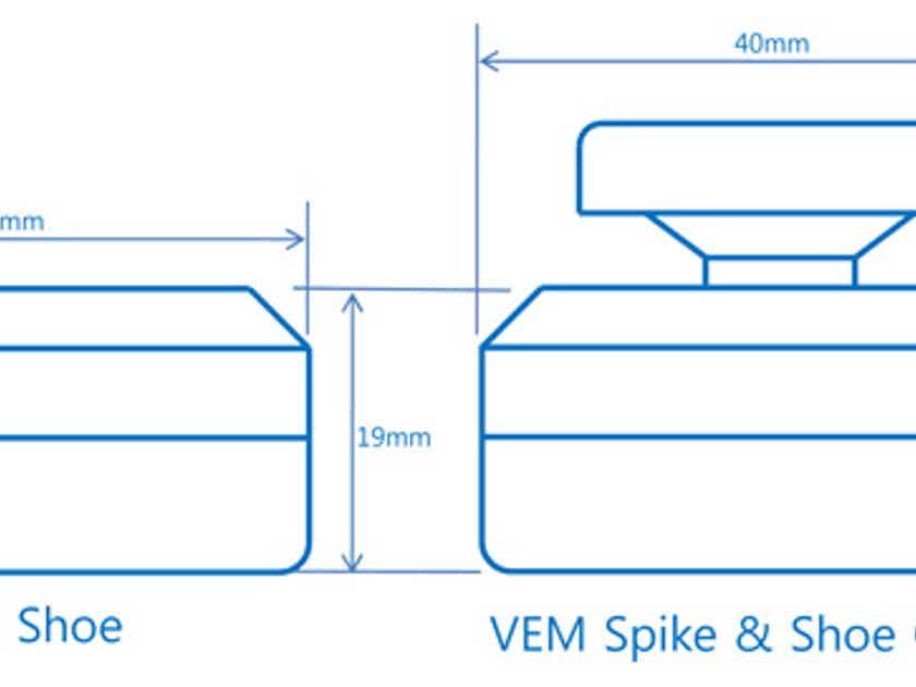 Nasotec VEM Spike & Shoe Combo - better 3-dimensionality with darker background