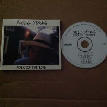Neil Young  - Fork In The Road Reprise Records Compact ...