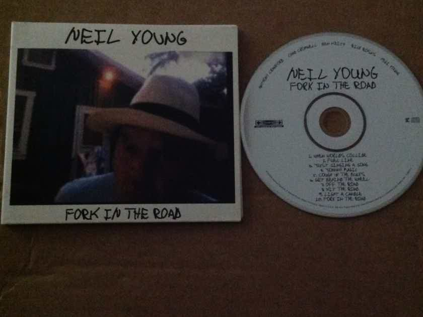 Neil Young  - Fork In The Road Reprise Records Compact Disc