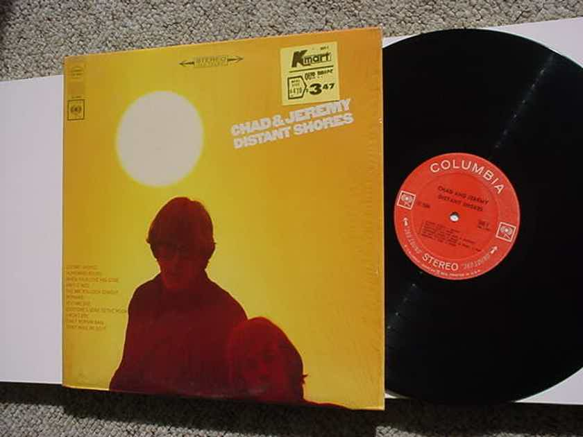 Chad & Jeremy lp record in shrink - distant shores stereo cs 9364 Columbia