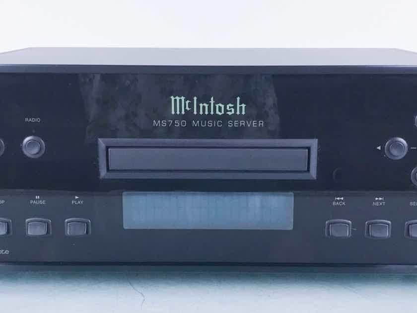 McIntosh MS750 Network Server / Streamer / CD Ripper; MS-750; 750GB (15795)