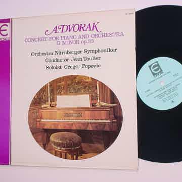 EUPHORIA E-2028 Classical lp record A Dvorak concert for piano and orchestra G-Minor op33