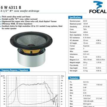 Focal 6W 4311B