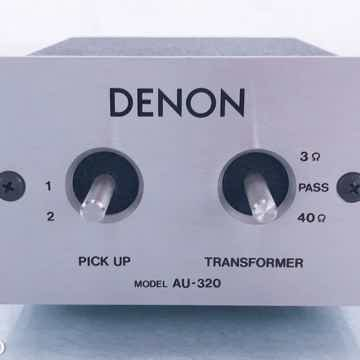 AU-320 Vintage MC Phono Step-Up Transformer