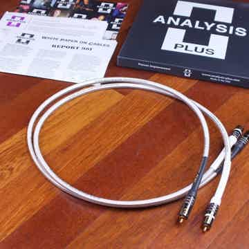 Analysis plus Silver Oval-In