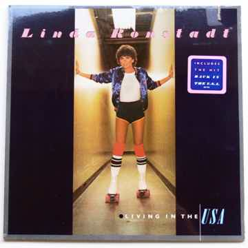 LINDA RONSTADT LP  ** SEALED **    -  LIVING IN THE USA...