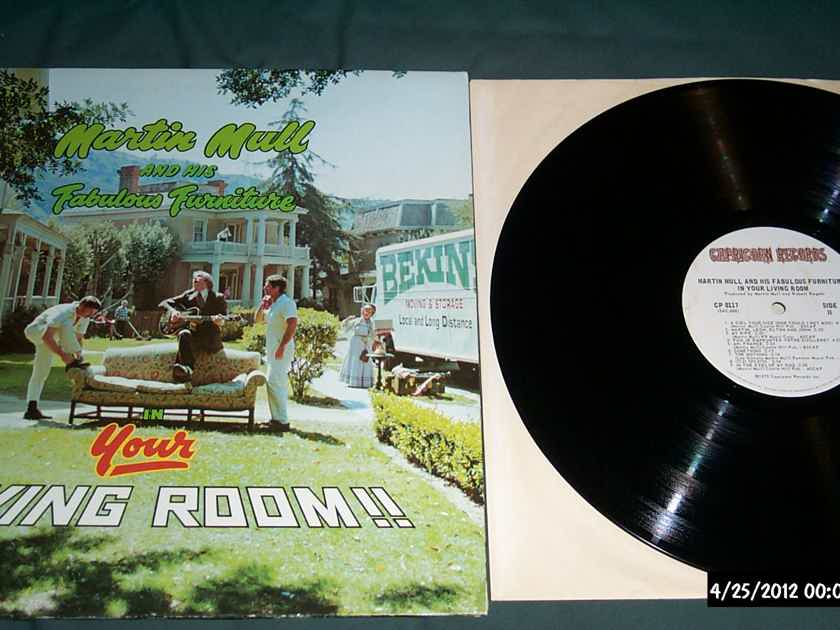 Martin Mull - In Your Living Room LP NM -1 Stampers Both Sides