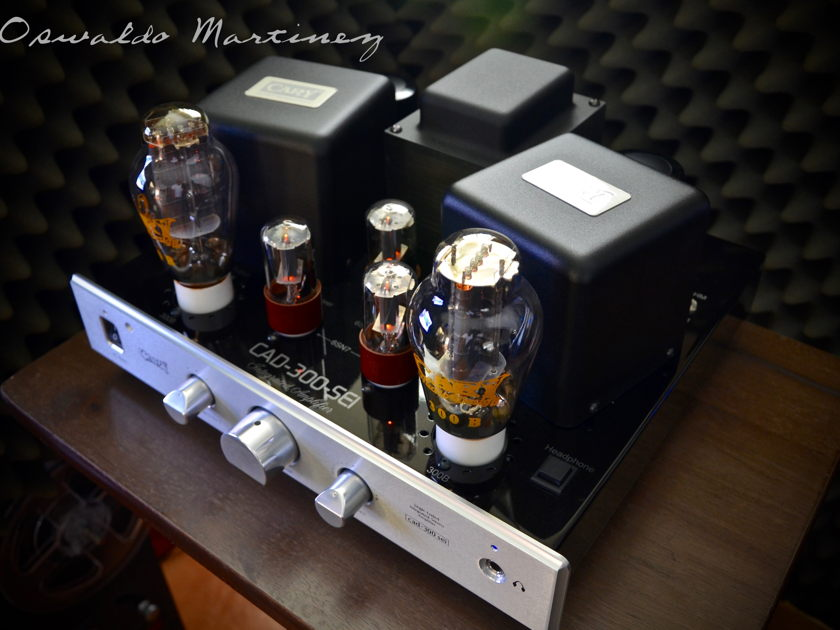 Cary Audio Design CAD-300SEI • Recent Factory Service (Silver)
