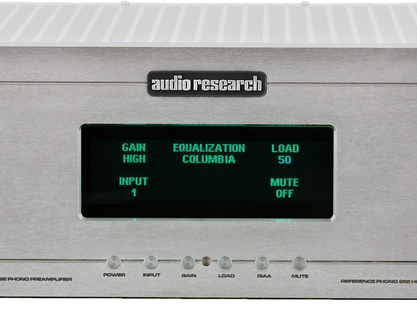 Audio Research Reference Phono-2SE Preamplifier Brand-New Factory-Sealed