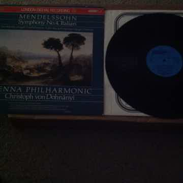 Mendelssohn - Symphony No. 4 Italian London Records U.K...