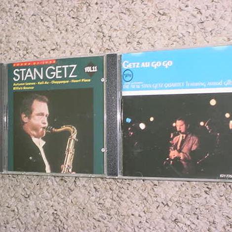 JAZZ Stan Getz 2 cd cd's