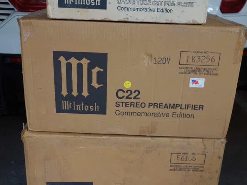 McIntosh MC-275, C-22, Spare Tube Set