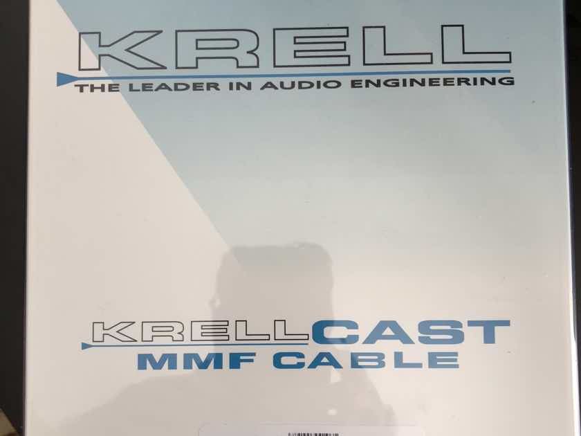 KRELL CAST Cables, Nordost, MMF, 1 Meter Pair - New in Box