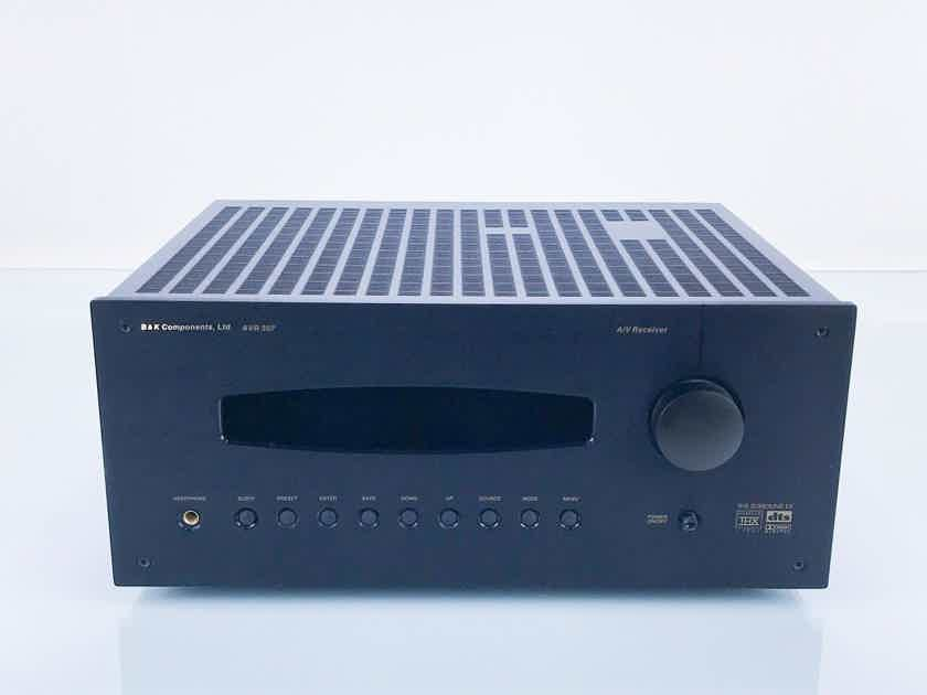 B&K AVR-307 7.1 Channel Home Theater Receiver AVR307; Remote (16725)