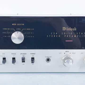 McIntosh C24 Vintage Stereo Preamplifier