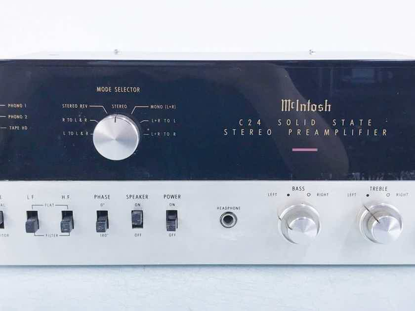 McIntosh C24 Vintage Stereo Preamplifier C-24 (15771)