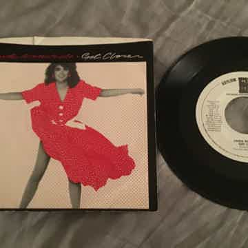 Linda Ronstadt  Get Closer Promo Mono/Stereo 45 With Pi...