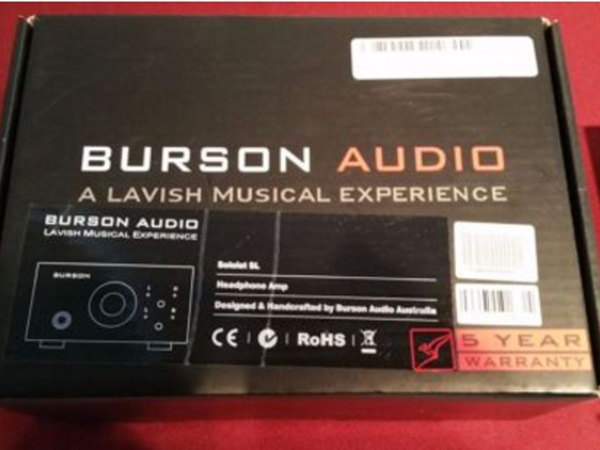 Burson Audio Soloist SL MKII Fully Discrete Amp | Excellent Condition | Orig. Packaging