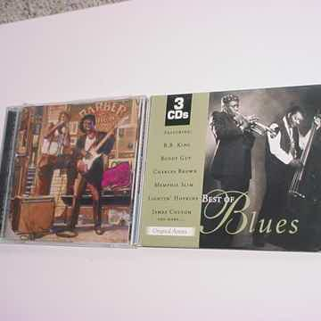 Best of the blues 3 cd set and  the golden age of blue Chicago cd