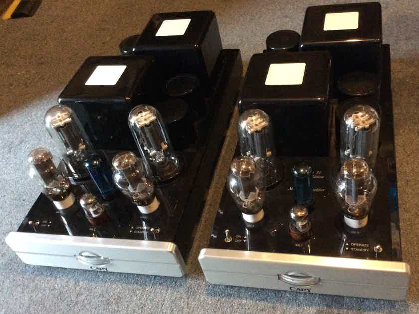 Cary Audio CAD-211 FE monoblock amplifiers pair