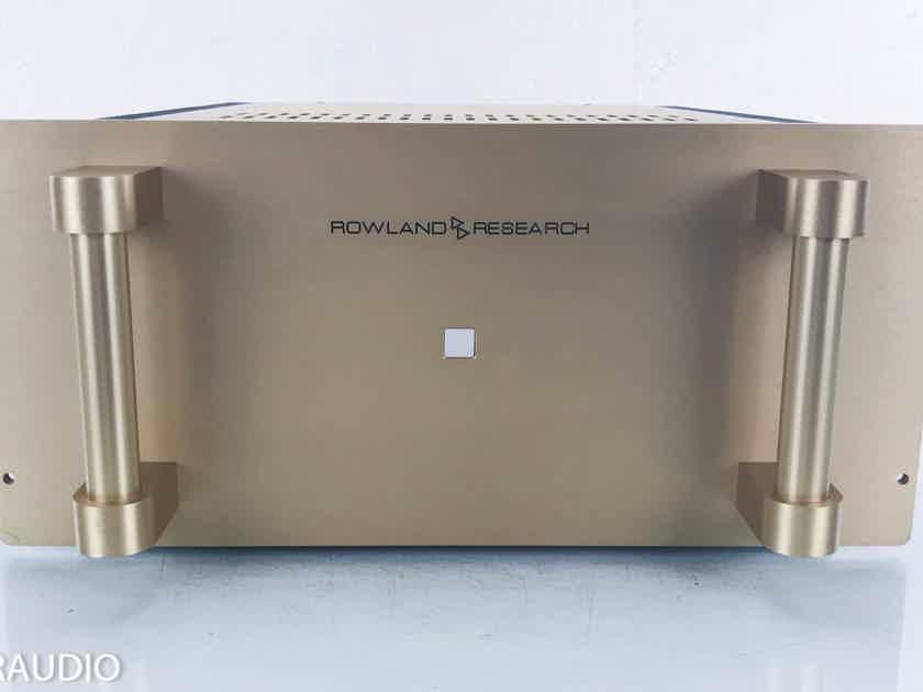 Jeff Rowland Model 5 Stereo Power Amplifier Gold (14324)