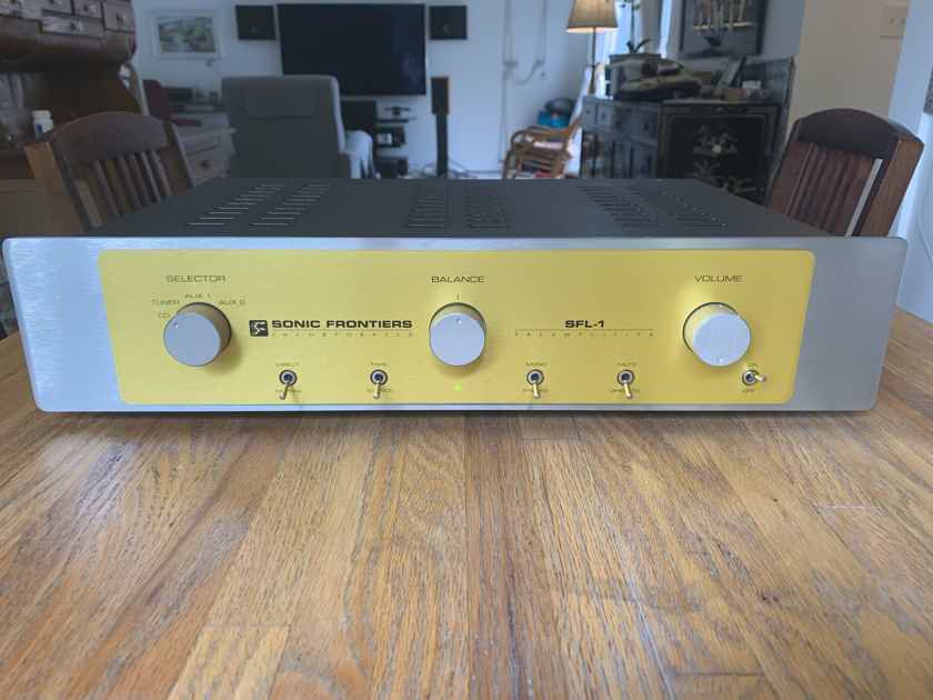 Sonic Frontiers SFL-1 PREAMP (MINT)!