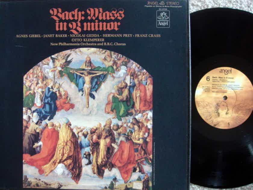 EMI Angel / KLEMPERER, - Bach Mass in B Minor,  MINT, 3LP Box Set!