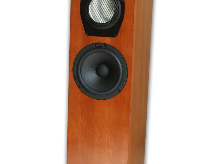 Clearwave Loudspeaker Design Symphonia 1 Accuton Cell tweeter/midrange! Lightning fast!